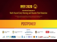 Symposium on Multi Hazard Early Warning &Disaster Risk Reduction 2020 is compelled to postpone